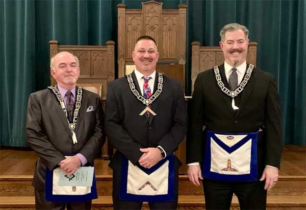 Norwood Lodge 576 Officers
